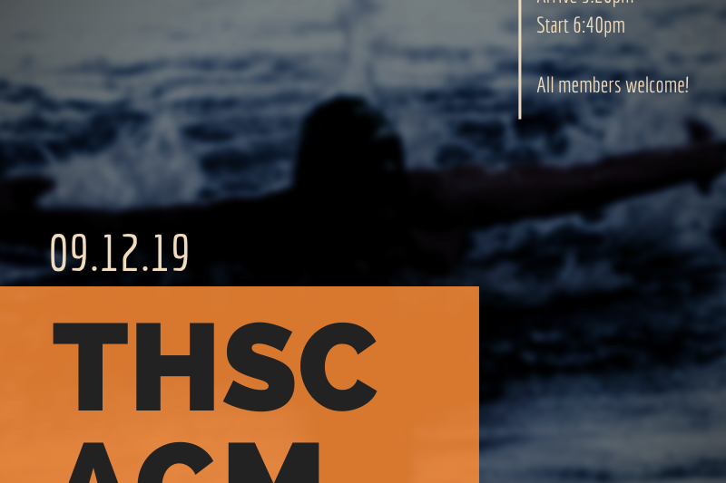 THSC AGM 2019 – Save The Date!