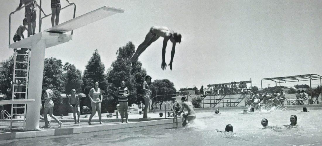 Tuart Hill High School pool, 1970